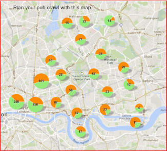 Plan your pub crawl with this map.